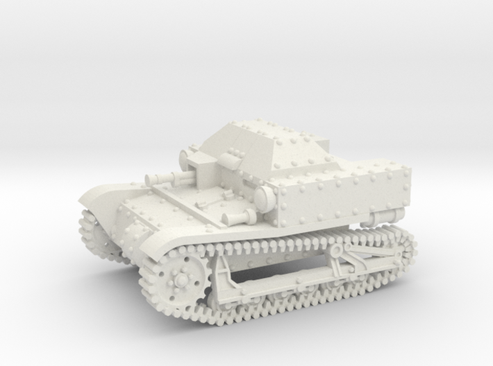 T27a Tankette (1:87 HO scale) 3d printed