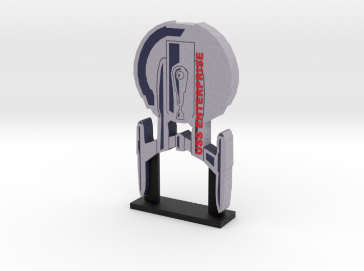 USS Enterprise NX-01 Display = DESKAPADES = 3d printed