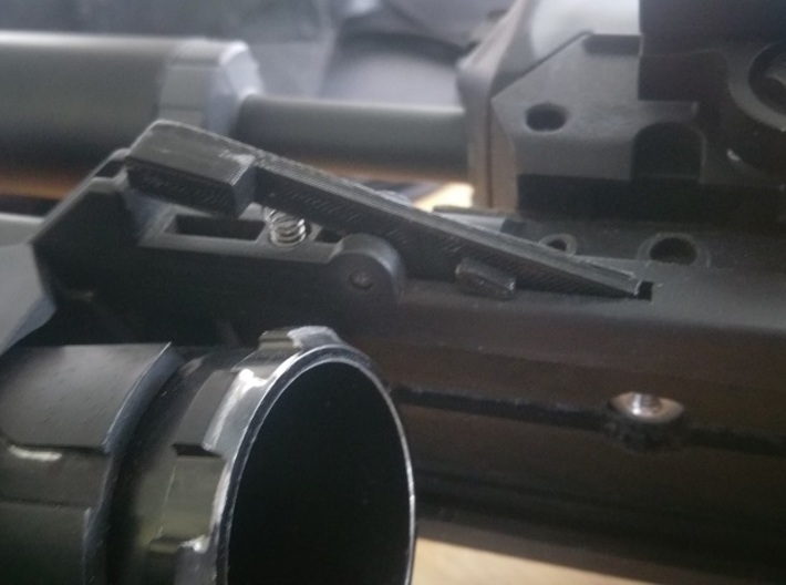 Ares EGLM Latch 3d printed