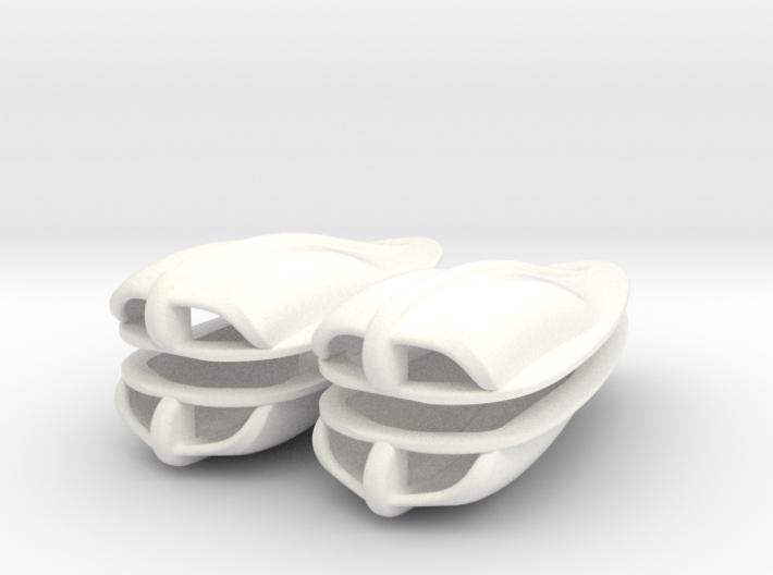 1-6 Boat Vent 4 Uds 3d printed