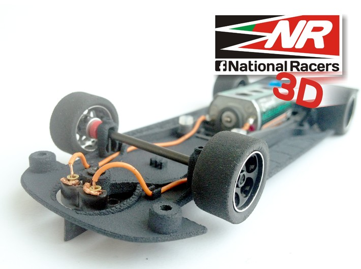 3D Chassis - SCX Chevrolet MonteCarlo 2005 (Combo) 3d printed