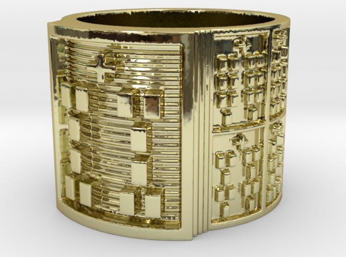BABA IWORI MEYI Ring Size 11-13 3d printed