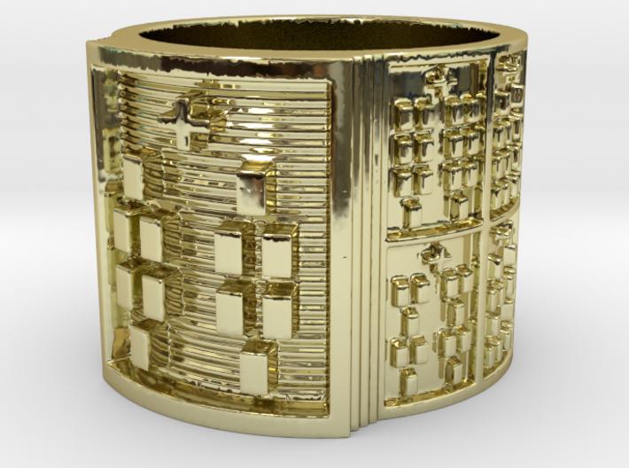 RING BABA ODI MEYI Ring Size 11-13 3d printed