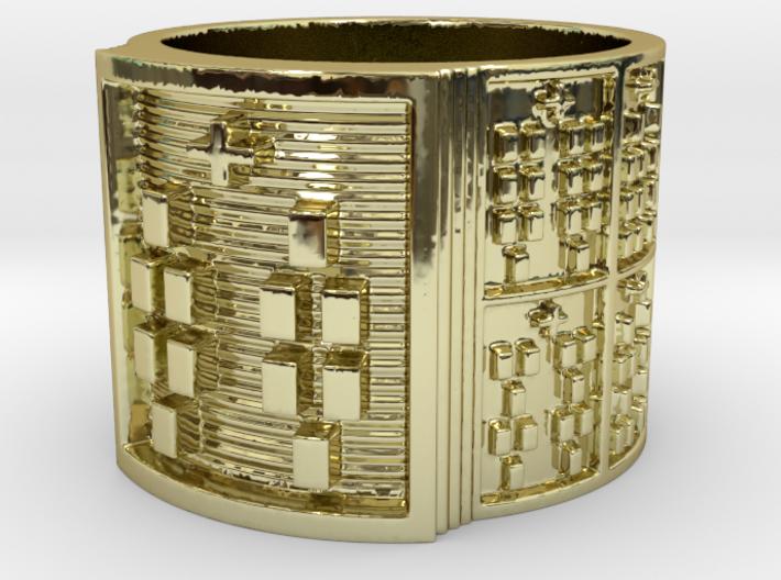 RING BABA ODI MEYI Ring Size 13.5 3d printed