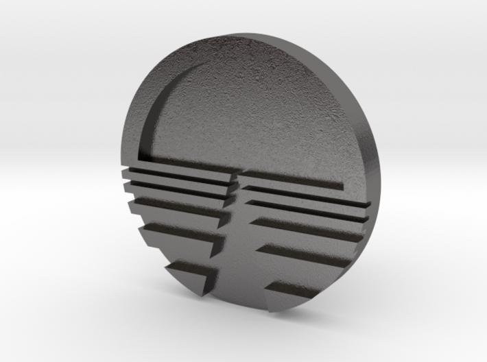 Horizon Logo Cuff Links 3d printed