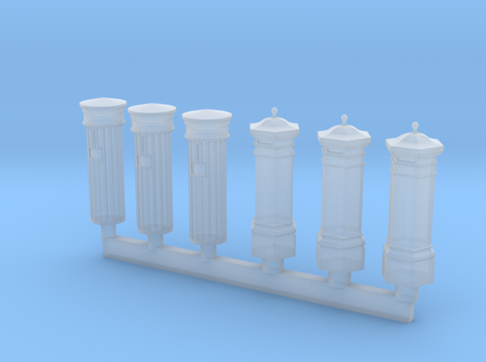 Victorian Letter Box 15mm 3d printed