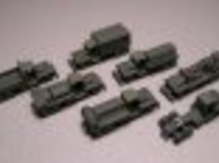 1/285 Scale CCKW Truck Set Of 7 3d printed