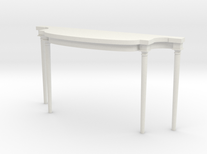 1:48 Louis XVI Console Side Table 3d printed