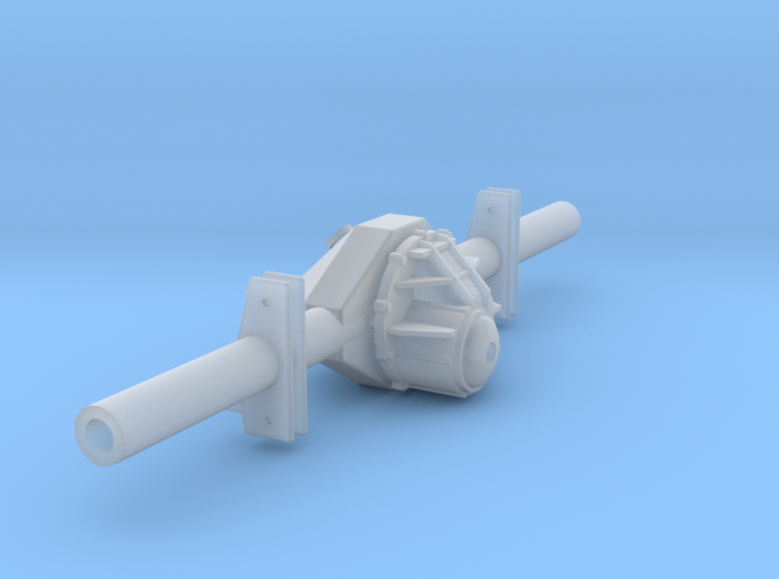 Mod Rear 1/24 3d printed