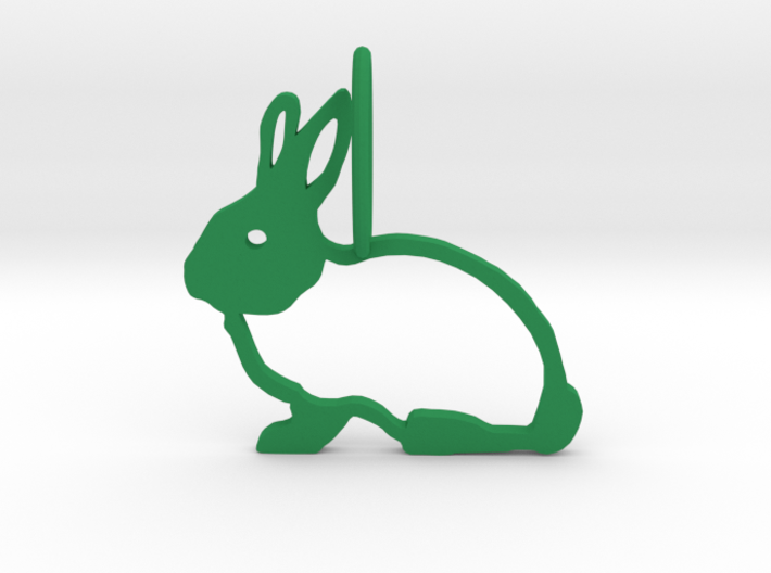 Cute Rabbit 3d printed