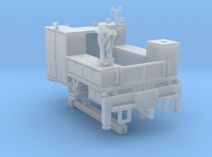 Signal Truck Maintenance Body With Hyrail 1-64 Sca 3d printed
