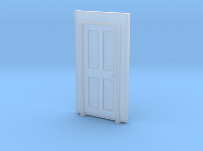 Standard Building Door #1 3d printed