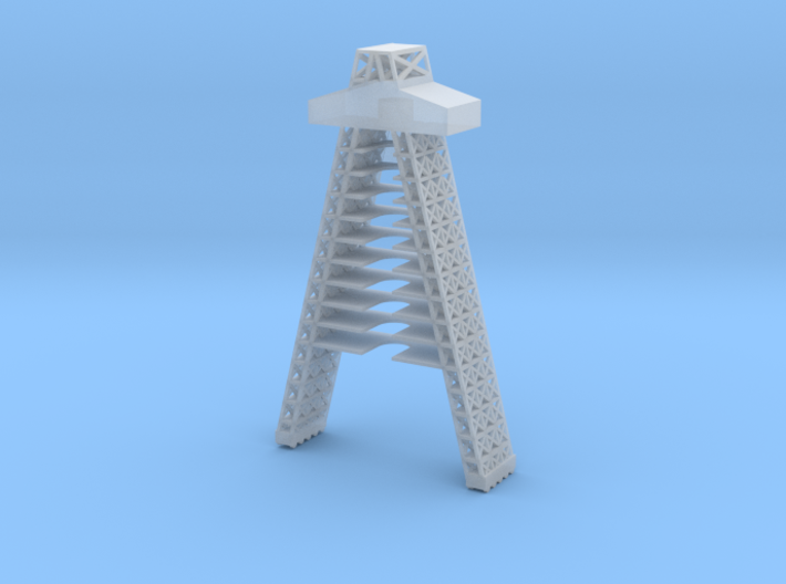1/285 Scale Atlas Missile Service Tower 3d printed