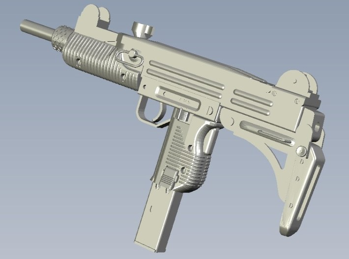 1/25 scale IMI Uzi submachineguns x 3 3d printed