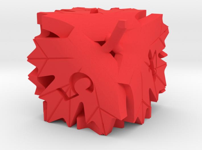Leaf D6 3d printed