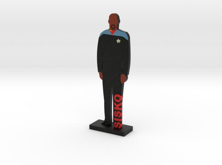 Captain Benjamin Sisko = DESKAPADES = 3d printed
