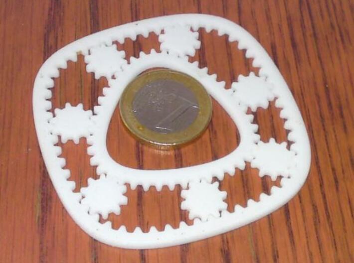 Hypotrochoid Gears 3d printed WSF printed