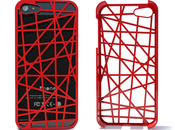 iPhone 5 Case - Abstract 3d printed