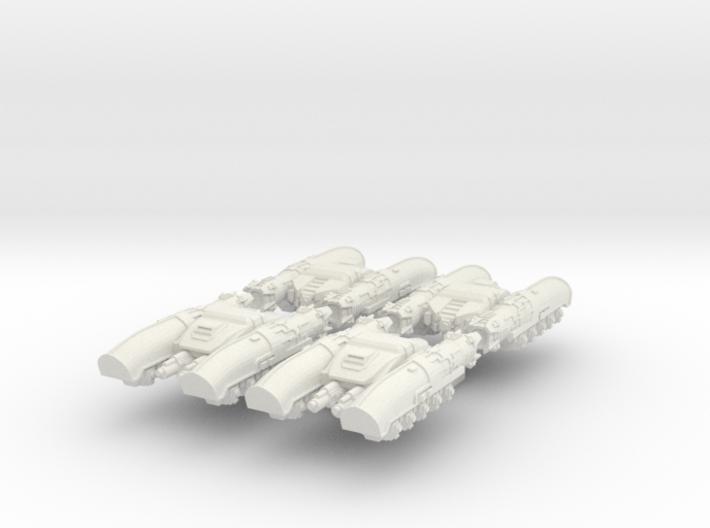 6mm Perses Light Anti-Grav Tanks (4pcs) 3d printed