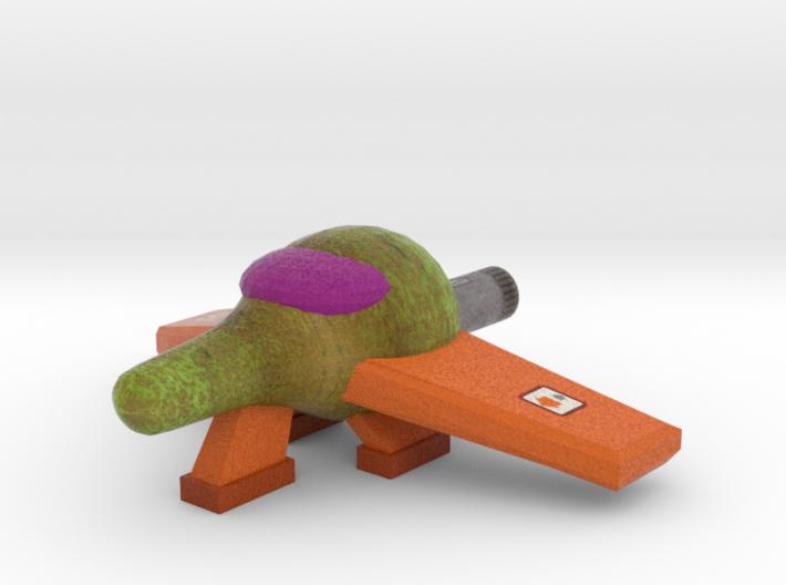 Pear Spaceship 2 3d printed