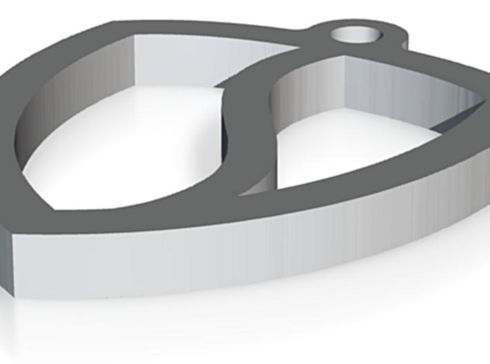 Salomondrin SVIPE Keychain 3d printed