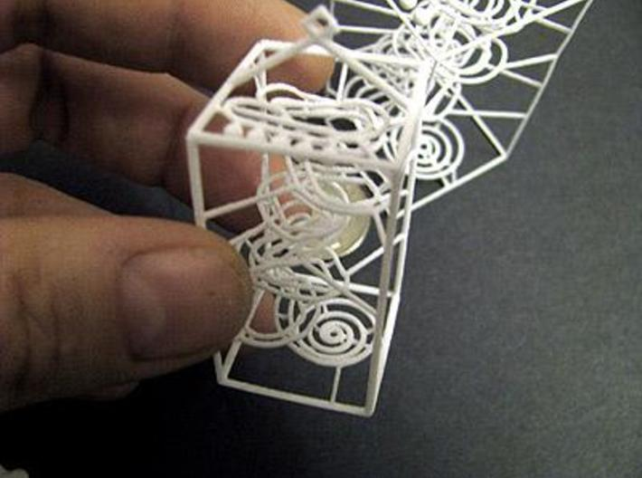 Super Tiny RBS Marble Run Rolling Ball Sculpture 3d printed printed