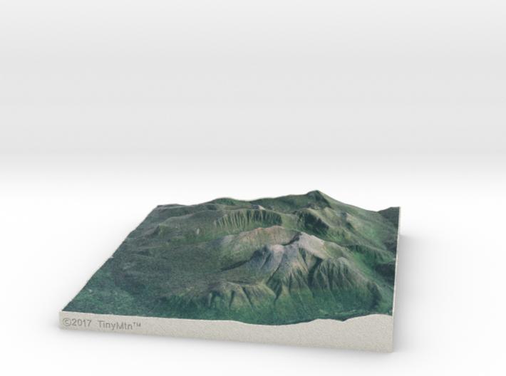 Ben Nevis, Scotland, UK, 1:50000 3d printed
