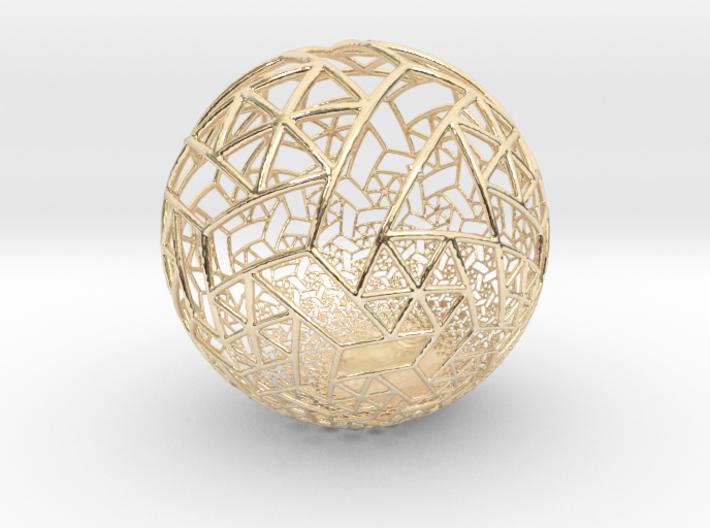 Grid Bulb II 3d printed