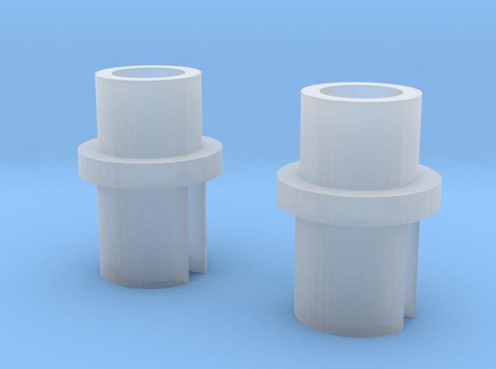 Wrenn OO DCC Convertion Horizontal Motor x2 3d printed