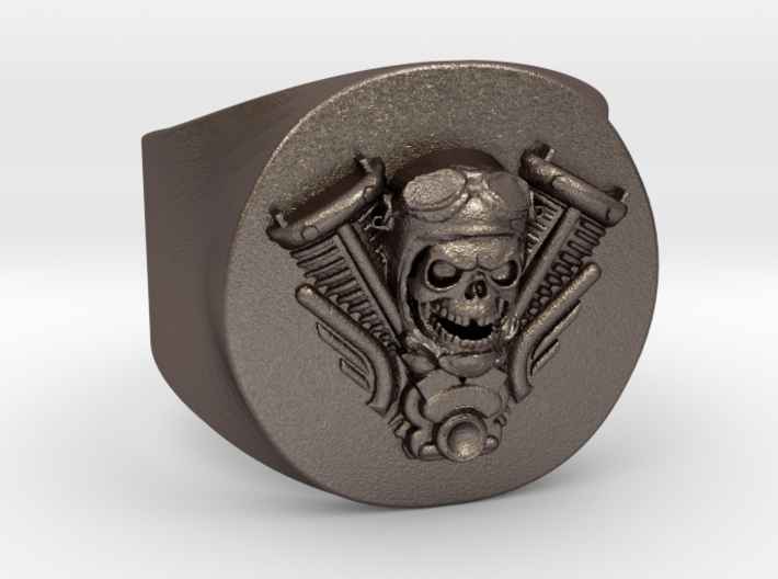 Harley engine Ring 3d printed