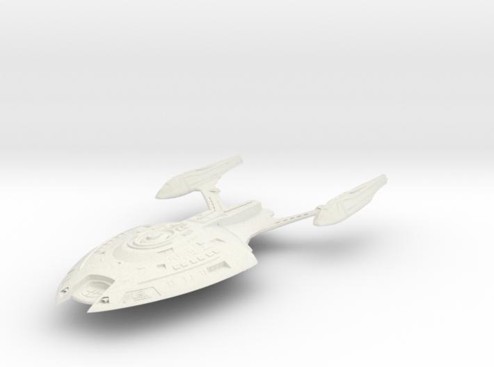 Pulsar Class Cruiser 3d printed