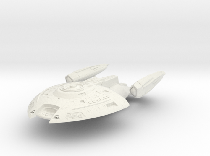 Saber Class Destroyer 3d printed