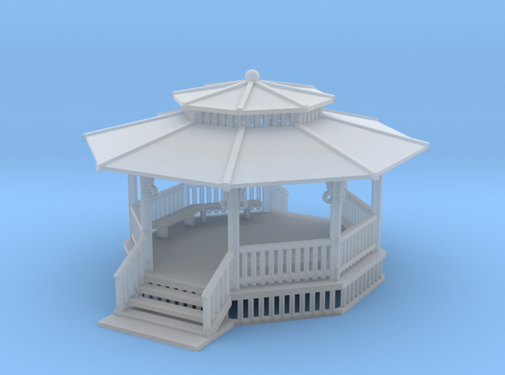 Gazebo 24feet N Scale 3d printed 24 foot gazebo N scale