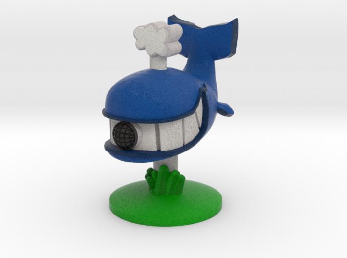Blubb-O's Drive-Thru Whale 3d printed