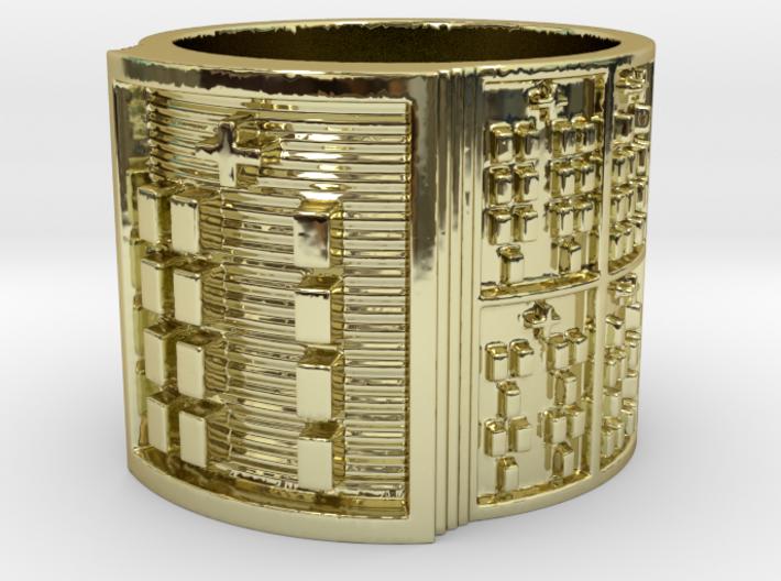 OGBEYEKUN Ring Size 11-13 3d printed