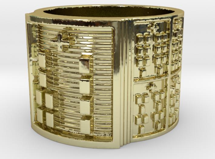 OGBEROSO Ring Size 14 3d printed