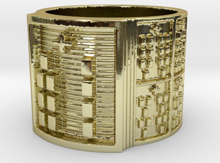OGBEBARA Ring Size 13.5 3d printed