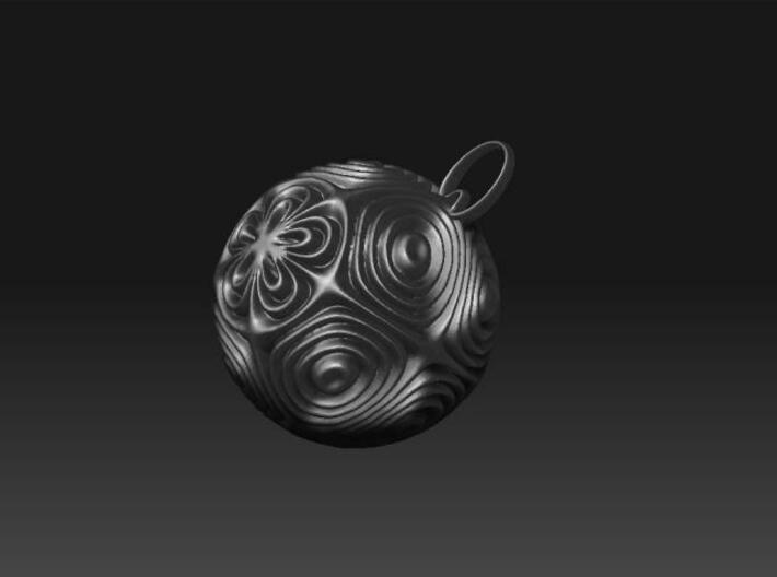 droplet earring-7 3d printed Description