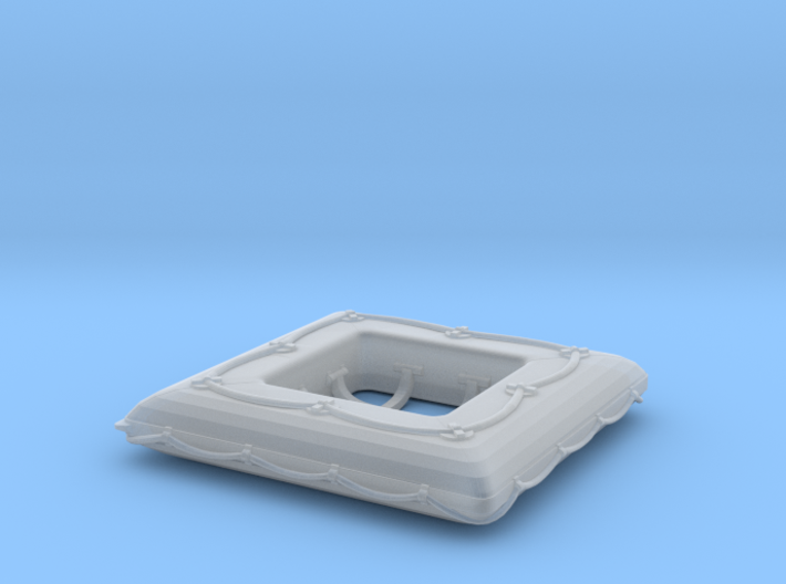 1/96 DKM Life Raft Single 3d printed