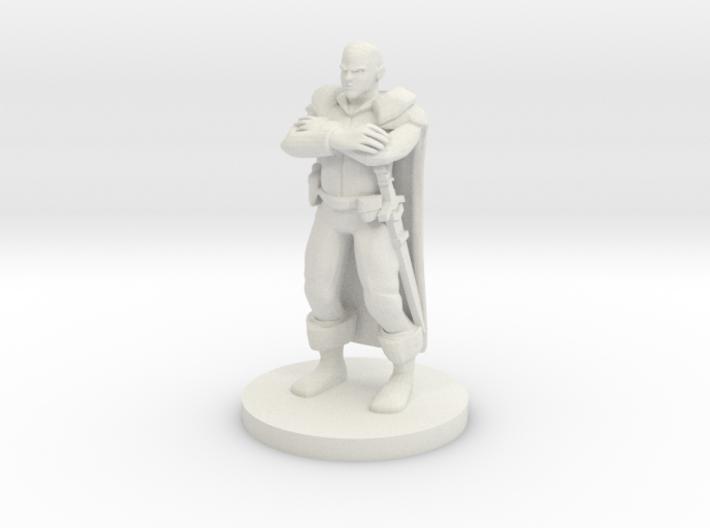 Human Male Sheriff - Markham Southwell 3d printed