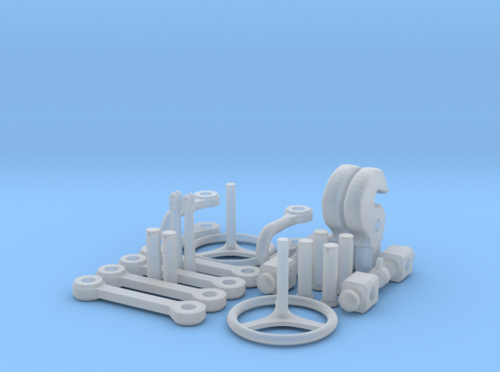 1:16 scale Ssyms 80 ton detail set 01 3d printed