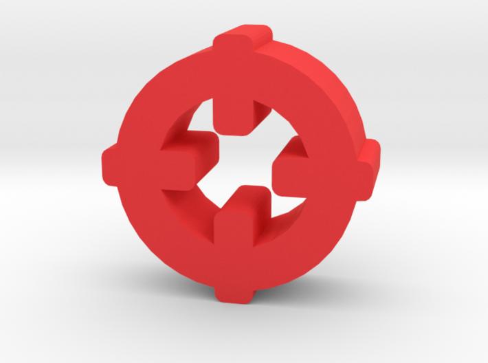 Game Piece, Target Symbol 3d printed