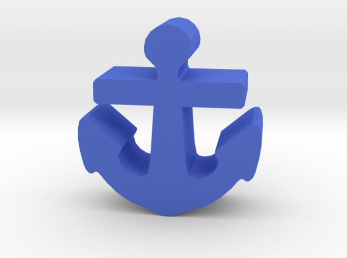 Game Piece, Anchor 3d printed