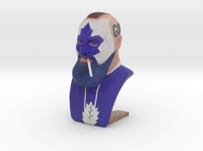 Dart Guy - Bust 3d printed Dart Guy - Lite It Up