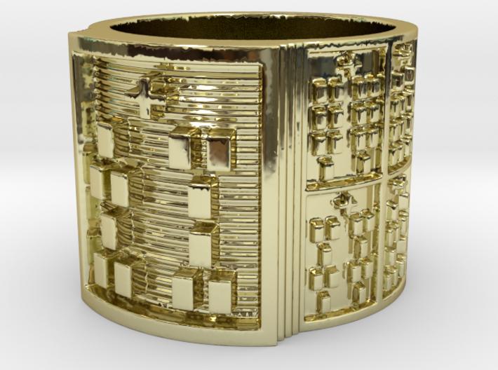 IWORIBOSHE Ring Size 11-13 3d printed