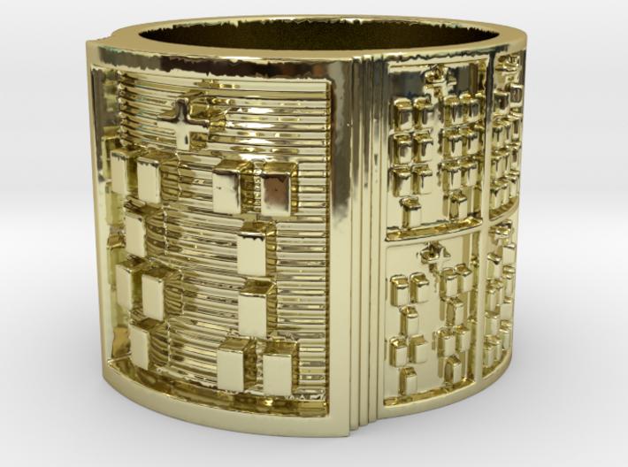 IWORIBOFUN Ring Size 11-13 3d printed