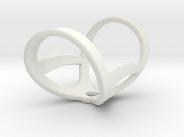 Infinity ring splint 7'' to 8'', length 32 mm 3d printed