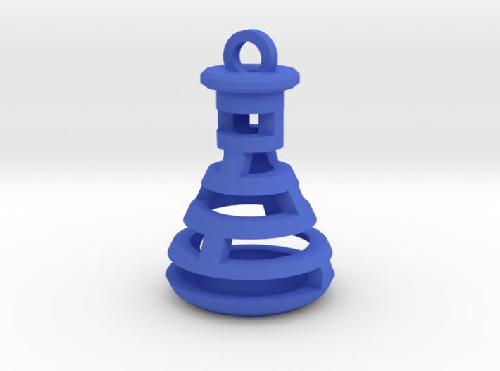 Beaker Pendant 3d printed