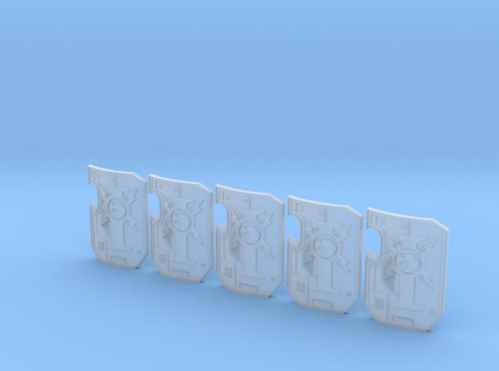 5x Custodian Guard - (no hand) Terminator Wall Shi 3d printed