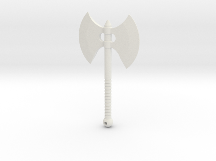 Mega-scale Battle Axe for ModiBot  3d printed Mega-scale Battle Axe for ModiBot